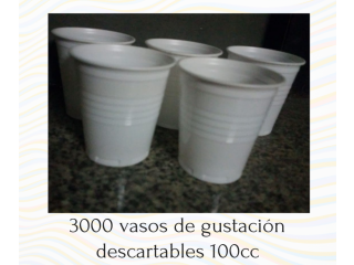 VASOS DESCARTABLES AL POR MAYOR