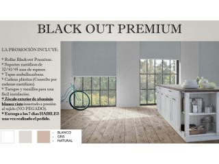 Cortinas Roller Black Out Premium