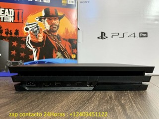 Sony Playstation 4 PS4 Pro Con Red Dead Redemption 2 Juego Paquete