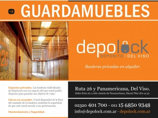 Guardamuebles en Bauleras Privadas