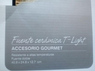 Fuente de Ceramica T-Light