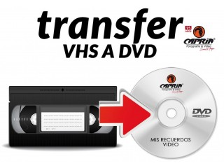 Transfer o copiado de videos a dvd o memoria ( MP4, MPEG,AVI ETC)