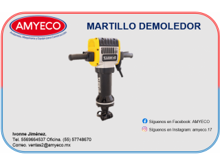 MARTILLO DEMOLEDOR