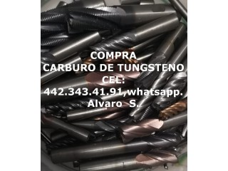 COMPRA DESPERDICIO DE CARBURO DE TUNGSTENO EN SILAO