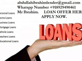 Loan offer: quick responses