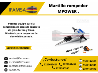 Venta de martillo demoledor 127v