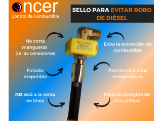Sello para conexiones anti-extracción de combustible